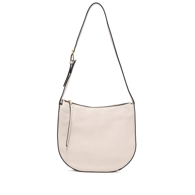 GIANNI CHIARINI: PETRA  MEDIUM  BEIGE  SHOULDER  BAG