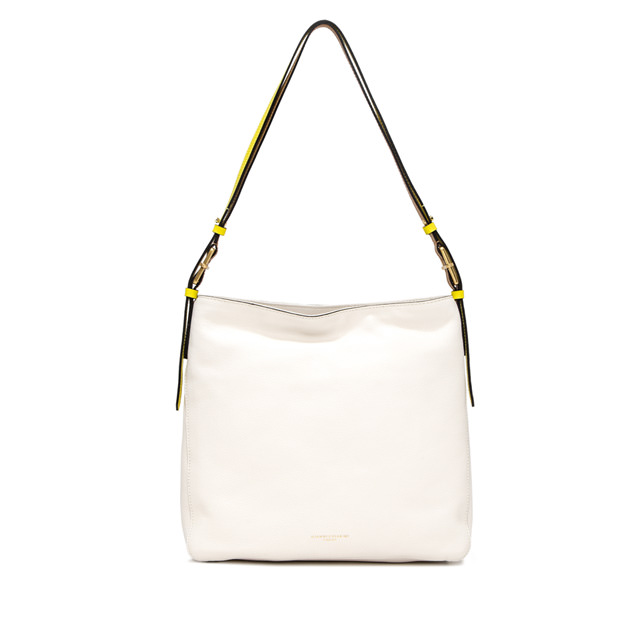 GIANNI CHIARINI MEDIUM SIZE TANIA SHOULDER BAG COLOR WHITE