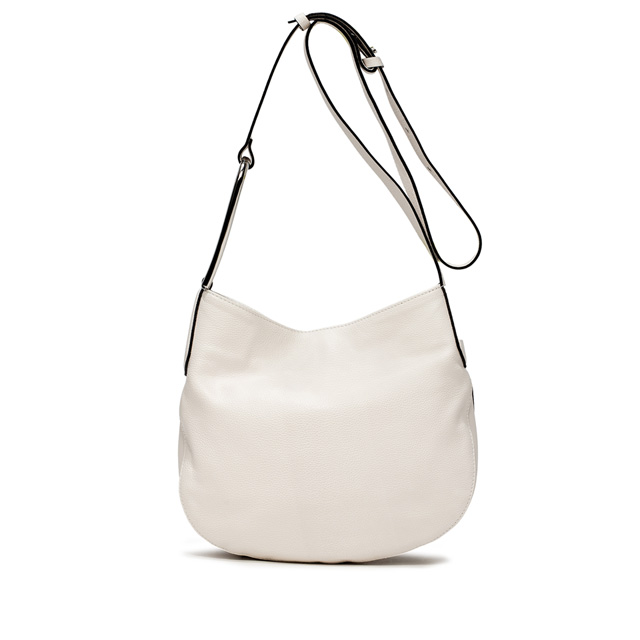 GIANNI CHIARINI ADA LARGE WHITE CROSS BODY BAG