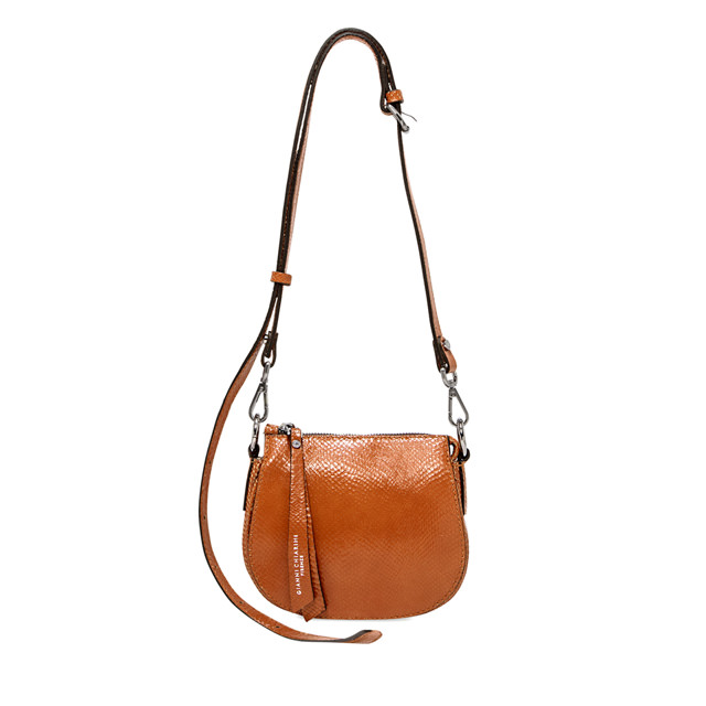GIANNI CHIARINI MINI BAG CROSSBODY COLOR ORANGE