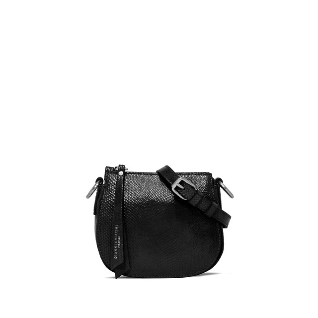 GIANNI CHIARINI SMALL SIZE ALICE CROSSBODY BAG COLOR BLACK