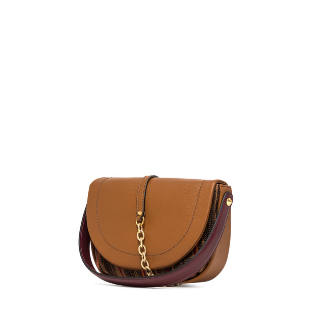 GIANNI CHIARINI MEDIUM SIZE DIANA CROSSBODY BAG COLOR BROWN