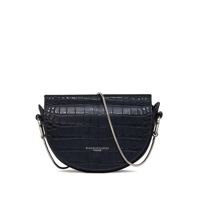 GIANNI CHIARINI DOLLY SHOULDER BAG BLUE