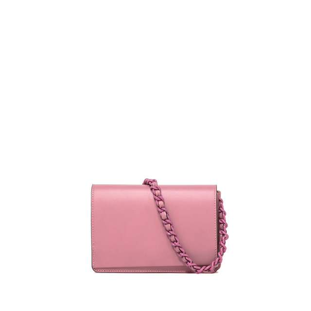 GIANNI CHIARINI MEDIUM SIZE EMILIA CROSSBODY BAG COLOR PINK
