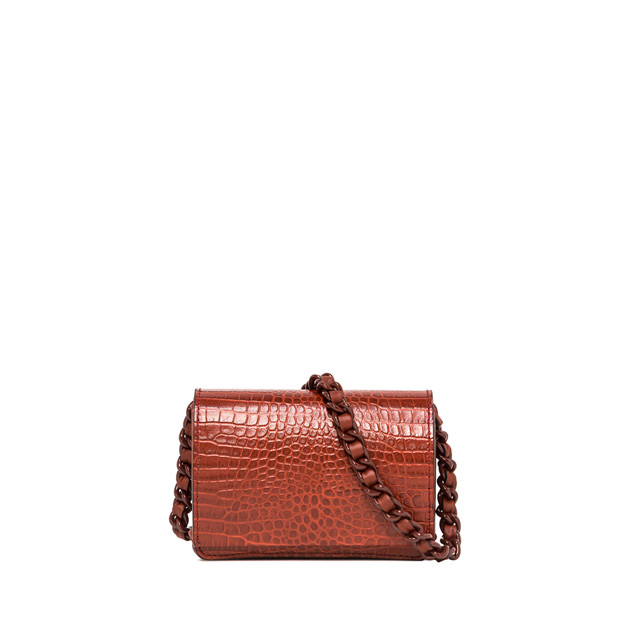GIANNI CHIARINI SMALL SIZE EMILIA CROSSBODY BAG COLOR RED