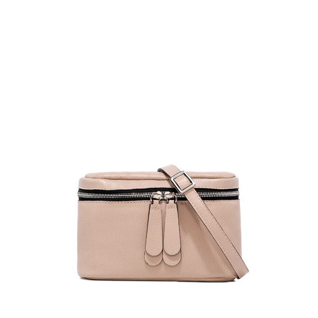 GIANNI CHIARINI: GALATEA SMALL NUDE CROSS BODY BAG