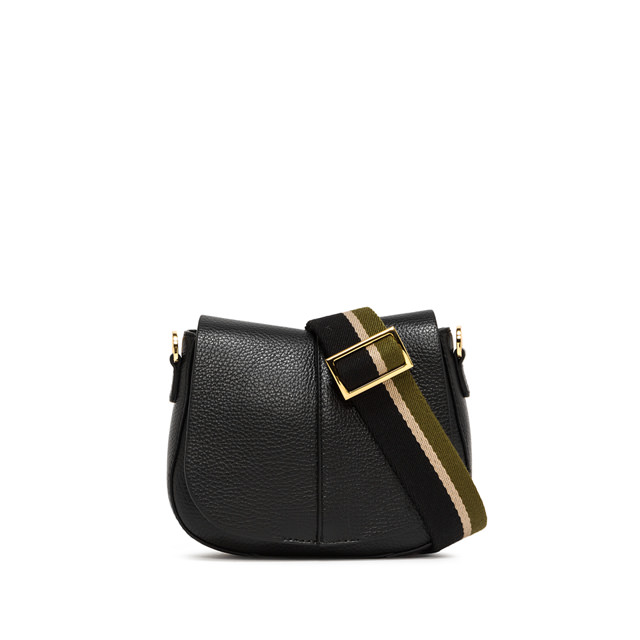 GIANNI CHIARINI SMALL SIZE ELETTRA CROSSBODY BAG COLOR BLACK