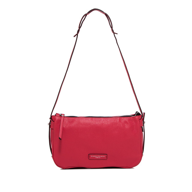 GIANNI CHIARINI LARGE SIZE ILARY CROSSBODY BAG COLOR FUCHSIA