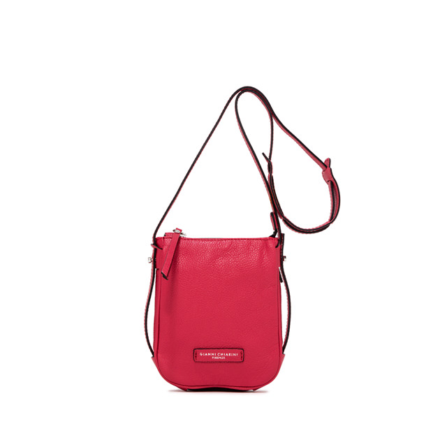 GIANNI CHIARINI MEDIUM-SIZE ILARY CROSSBODY BAG COLOR FUCHSIA