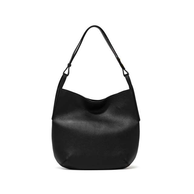 GIANNI CHIARINI LARGE SIZE JOHANNA CROSSBODY BAG COLOR BLACK