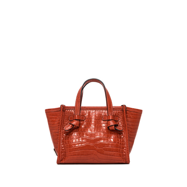 GIANNI CHIARINI: BORSA MINI MISS MARCELLA SMALL ROSSA