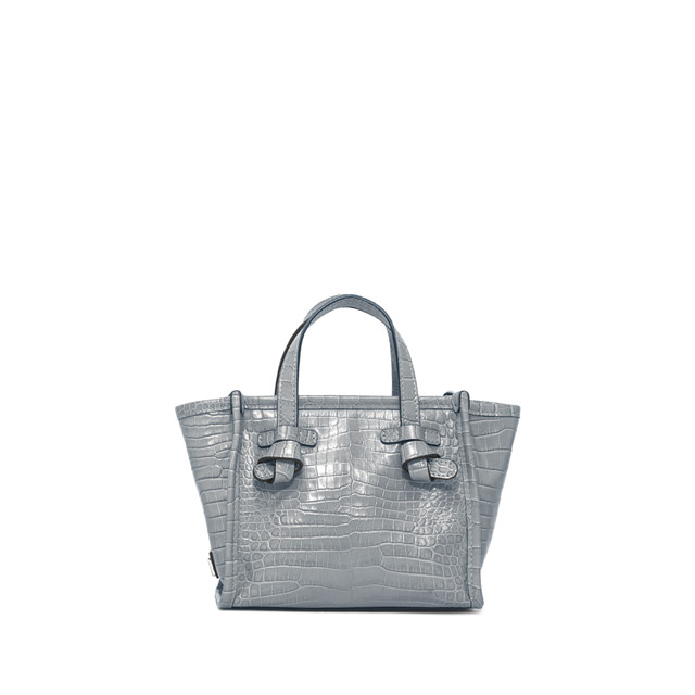 GIANNI CHIARINI BORSA MINI MISS MARCELLA SMALL AZZURRA