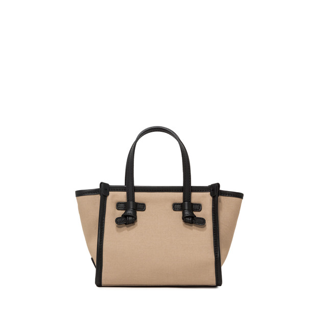 GIANNI CHIARINI MINI BAG SMALL SIZE MARCELLA COLOR BEIGE