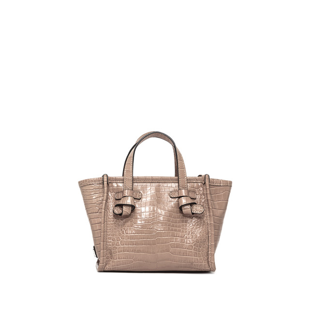 GIANNI CHIARINI: MINI BAG SMALL SIZE MARCELLA  COLOR BEIGE