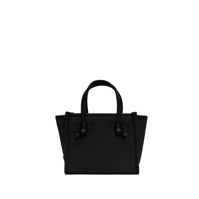 GIANNI CHIARINI: MINI BAG SMALL SIZE MARCELLA  COLOR BLACK