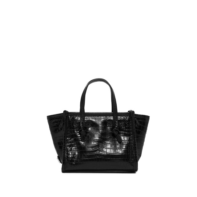 GIANNI CHIARINI MINI BAG SMALL SIZE MISS MARCELLA  COLOR BLACK