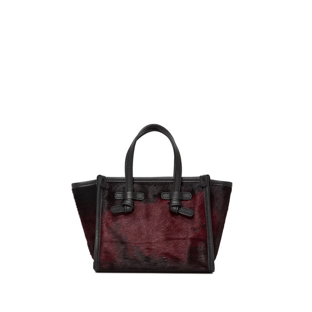 GIANNI CHIARINI: MINI BAG SMALL SIZE MISS MARCELLA COLOR RED