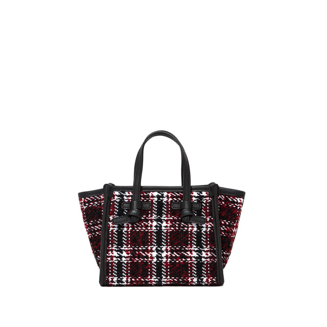 GIANNI CHIARINI: MINI BAG SMALL SIZE MARCELLA COLOR RED