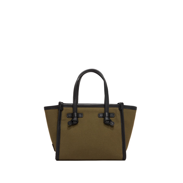 GIANNI CHIARINI: MINI BAG SMALL SIZE MISS MARCELLA COLOR GREEN