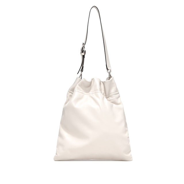 GIANNI CHIARINI: LARGE SIZE MEMORY CROSSBODY BAG COLOR WHITE