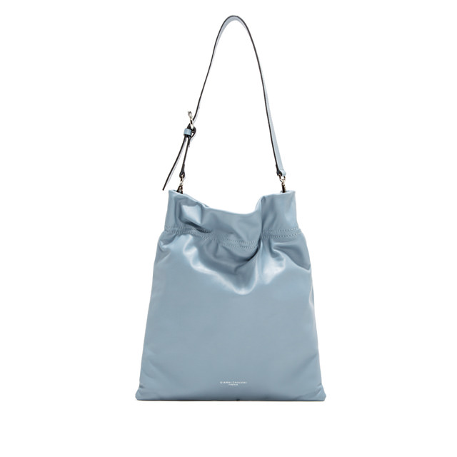 GIANNI CHIARINI: LARGE SIZE MEMORY CROSSBODY BAG COLOR LIGHT BLUE
