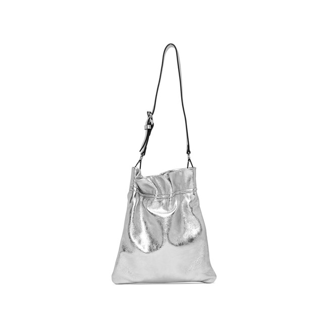 GIANNI CHIARINI: MEDIUM SIZE MEMORY SHOULDER BAG COLOR SILVER