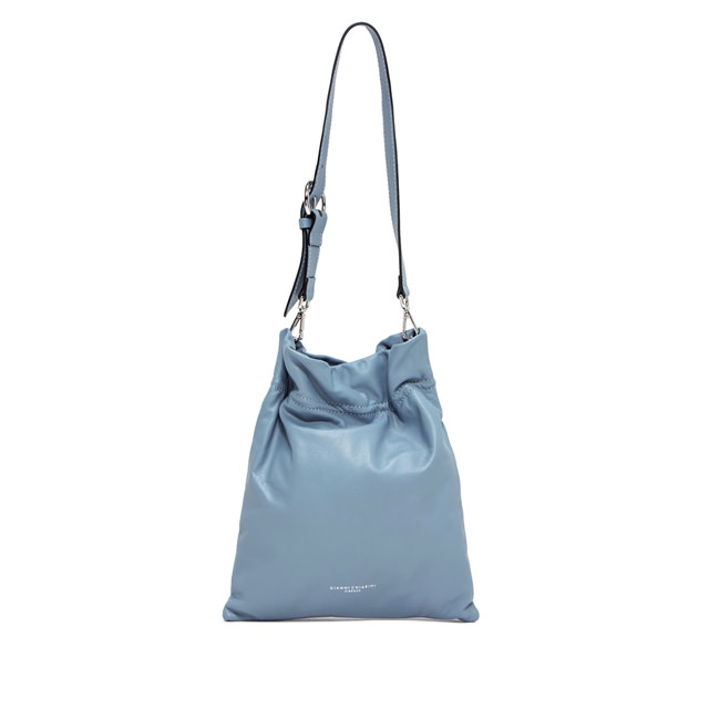GIANNI CHIARINI: MEDIUM SIZE MEMORY CROSSBODY BAG COLOR LIGHT BLUE