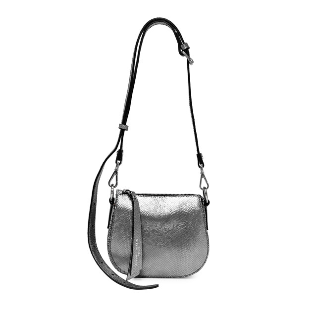 GIANNI CHIARINI MINI BAG CROSSBODY COLOR SILVER