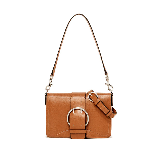 GIANNI CHIARINI: PRINCESS MEDIUM BROWN CROSS BODY BAG