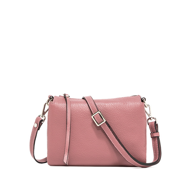 GIANNI CHIARINI BORSA A TRACOLLA THREE MEDIUM  ROSA