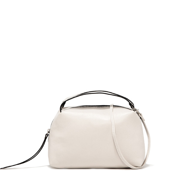 GIANNI CHIARINI ALIFA MEDIUM WHITE MINI BAG