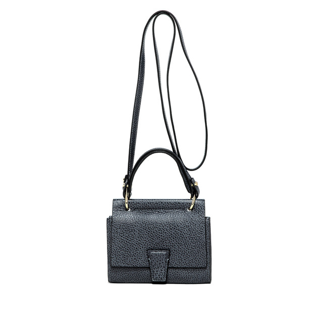 GIANNI CHIARINI: ELETTRA MINI BAG WALLET SMALL BLUE