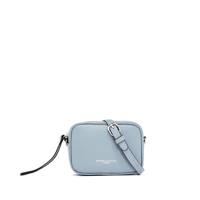 GIANNI CHIARINI: SMALL SIZE MINI HOLLY BAG COLOR LIGHT BLUE