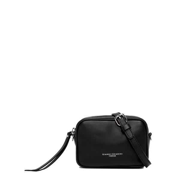 GIANNI CHIARINI: SMALL SIZE MINI HOLLY BAG COLOR BLACK