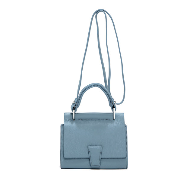 GIANNI CHIARINI: SMALL SIZE MINI WALLETS ELETTRA BAG COLOR LIGHT BLUE