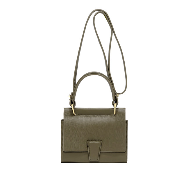 GIANNI CHIARINI BORSA MINI WALLET ELETTRA SMALL VERDE