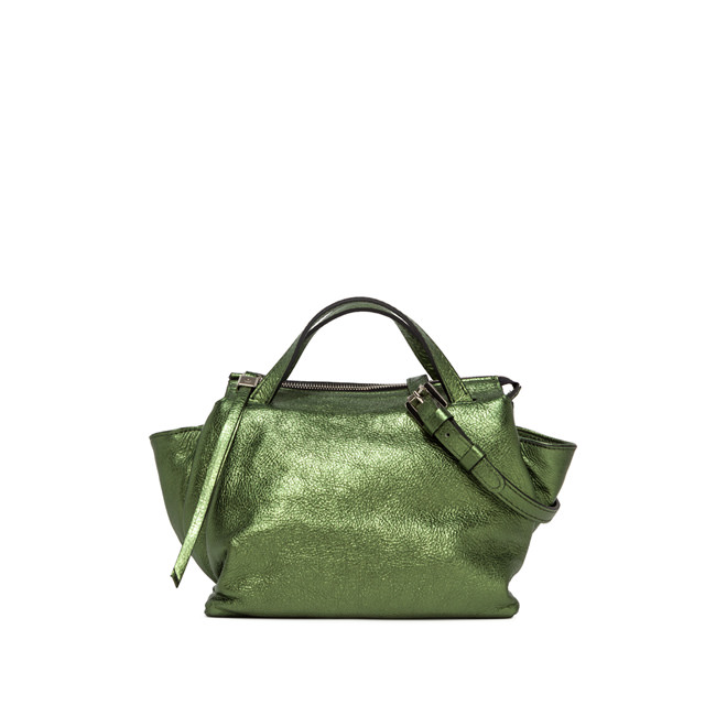 GIANNI CHIARINI MEDIUM SIZE ORIGAMI BAG COLOR GREEN