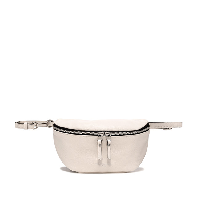 GIANNI CHIARINI: LARGE SIZE KOALA FANNY PACK COLOR WHITE