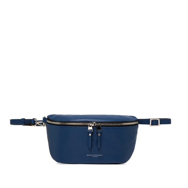 GIANNI CHIARINI: LARGE SIZE KOALA FANNY PACK COLOR BLUE