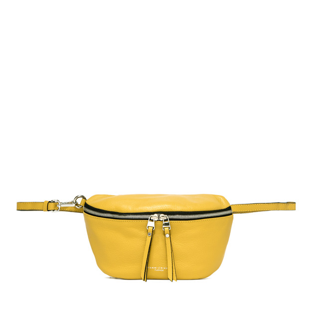 GIANNI CHIARINI: LARGE SIZE KOALA FANNY PACK COLOR YELLOW