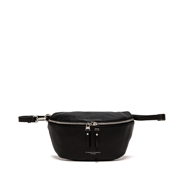 GIANNI CHIARINI: LARGE SIZE KOALA FANNY PACK COLOR BLACK