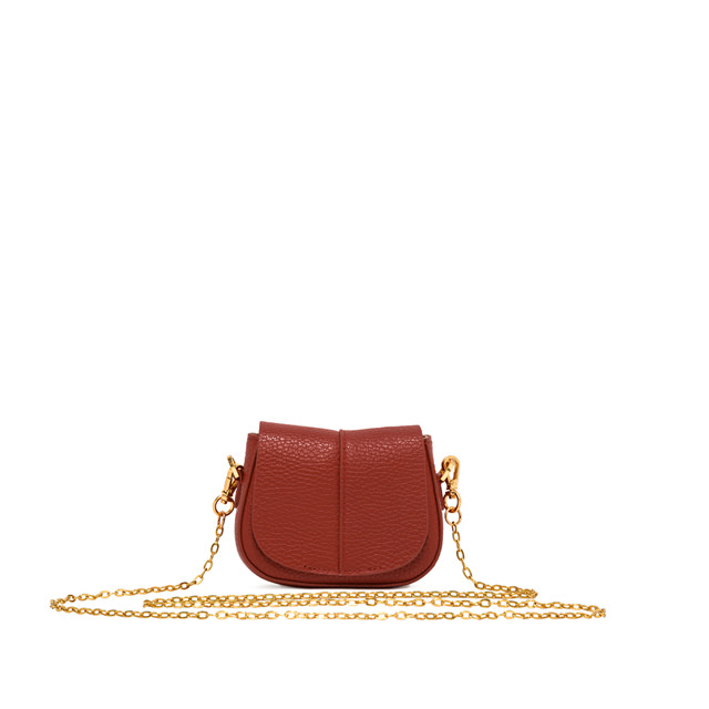 GIANNI CHIARINI MICRO HELENA ROUND COLOR RED