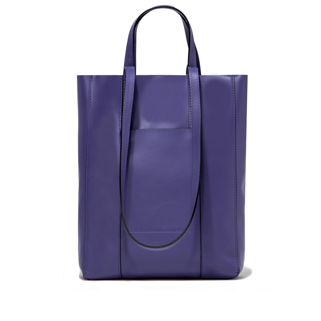 GIANNI CHIARINI SUPERLIGHT LARGE PURPLE SHOPPING BAG