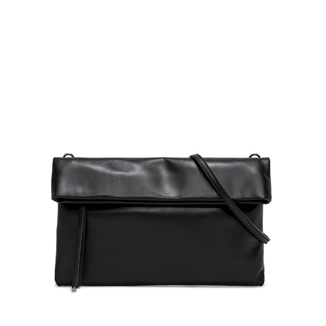 GIANNI CHIARINI CHERRY LARGE BLACK CLUTCH BAG