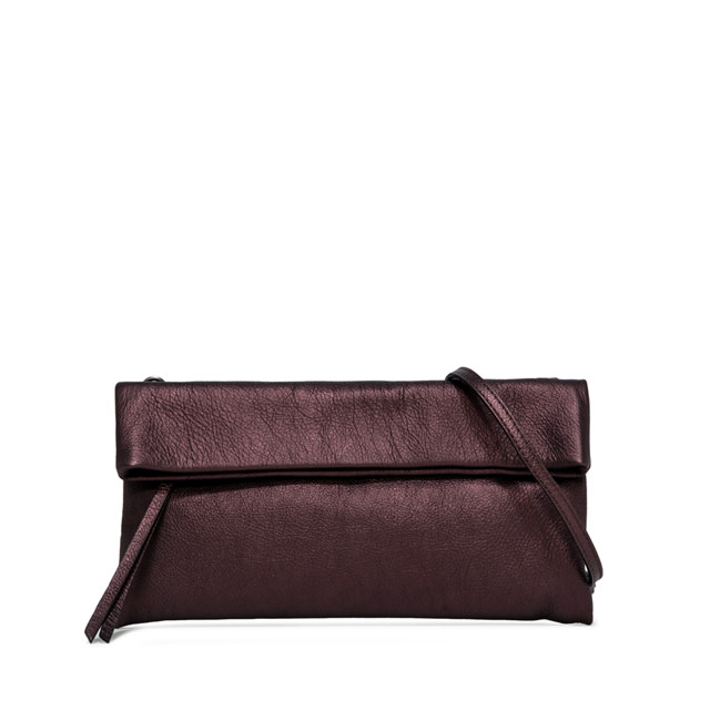 GIANNI CHIARINI POCHETTE CHERRY MEDIUM BORDEAUX