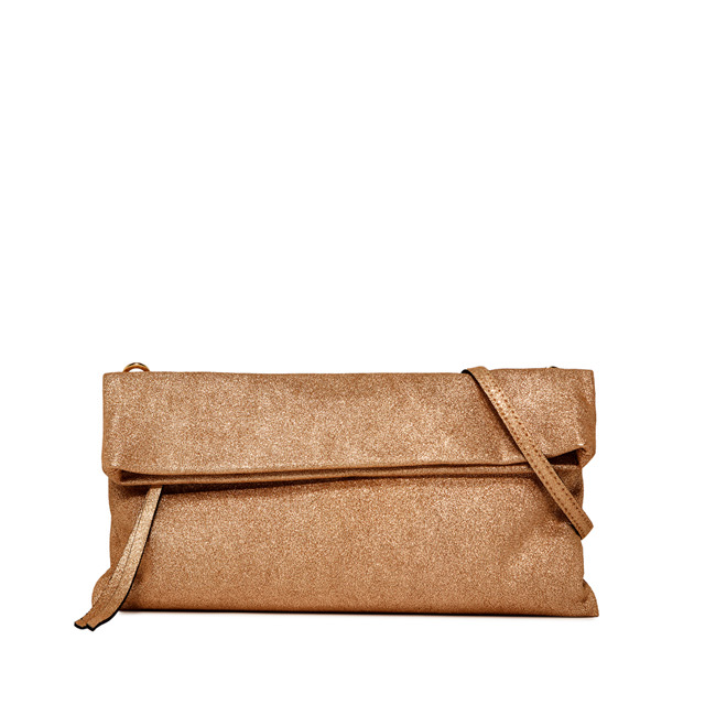 GIANNI CHIARINI: POCHETTE CHERRY MEDIUM BRONZO