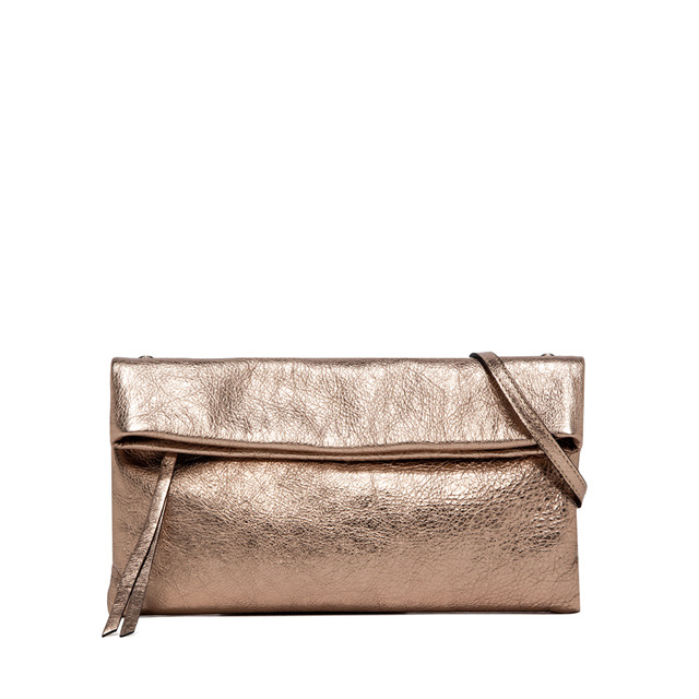 GIANNI CHIARINI: CHERRY MEDIUM PINK CLUTCH BAG