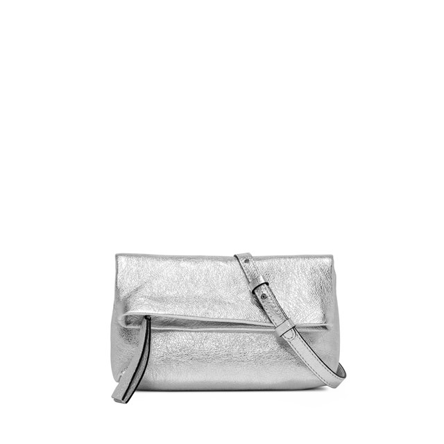 GIANNI CHIARINI SMALL SIZE MINI CHERRY BAG COLOR SILVER