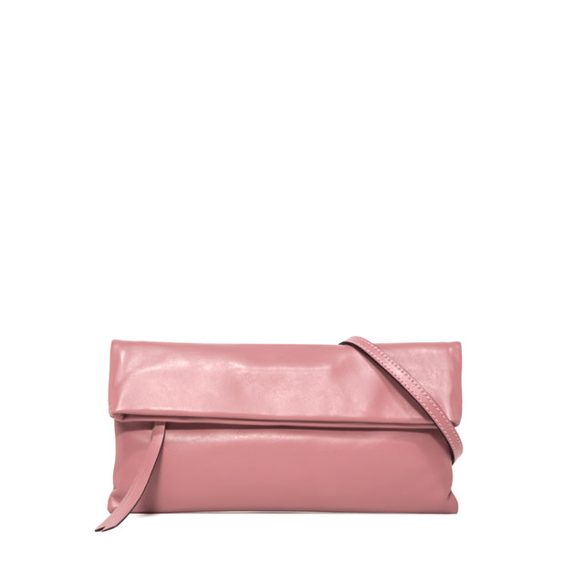 GIANNI CHIARINI SMALL SIZE CHERRY CLUTCH BAG COLOR PINK