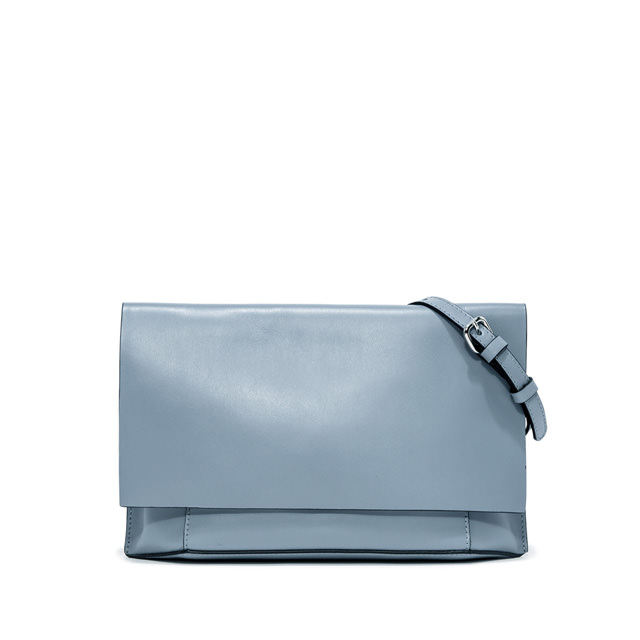 GIANNI CHIARINI LARGE SIZE CLUTCH BAG COLOR LIGHT BLUE
